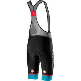 Castelli Free Aero Race 4 Kit Bib Shorts Heren, black/sky blue